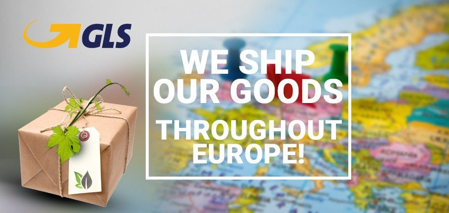 We ship our goods throughout Europe!